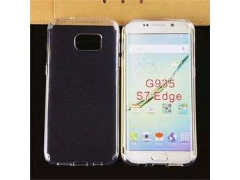 Samsung Galaxy S7 EDGE - Ultratunt Skal TPU Transparent - örebro - Mjukt, tunnt och slitstarkt TPU-skal. Skyddar baksidan och kanterna mot stötar, damm, smuts, repor och fall. - Smidigt och snyggt på samma gång. - Telefonens fina design syns fortfarande med skalet på. - Perfekt passform och behagligt grepp. - örebro