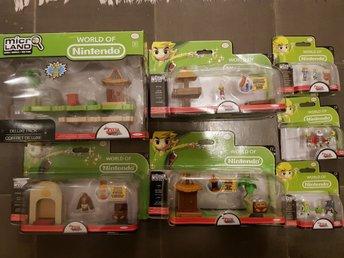 World of Nintendo Microland Zelda wind waker leksak samlarobjekt - Rottne - En fin samling av Nintendos prydnad/leksaker. Tema Zelda Wind waker.Några av lådorna är oöppnadeNypris ca 1300kr - Rottne
