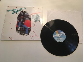Beverly Hills Cop Snuten i Hollywood  vinyl lp