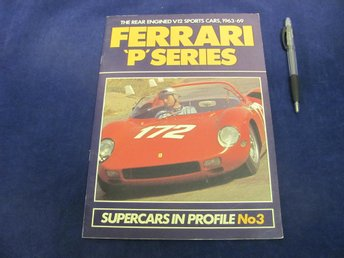 FERRARI P Series - Supercars In Profile No3