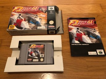 F1 Pole Position 64 CIB - N64