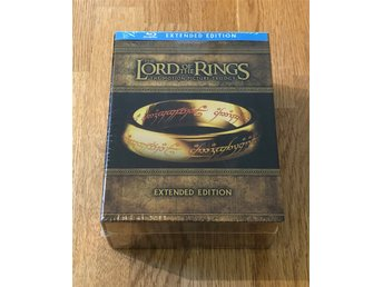 The Lord of the Rings Trilogy - Extended Edition - 15-disc (Blu-ray) Inplastad