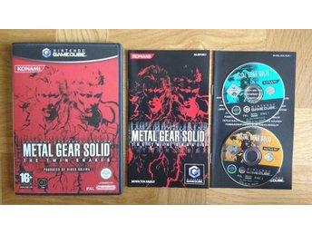 Nintendo GameCube: Metal Gear Solid: The Twin Snakes (toppskick)