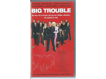 Big trouble - Tim Allen/Rene Russo - VHS