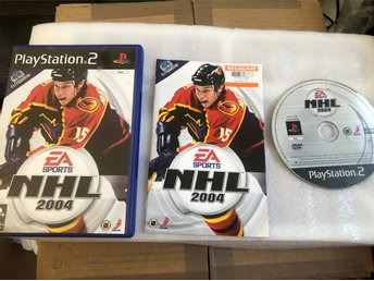 Playstation 2 PS2 -  NHL 2004