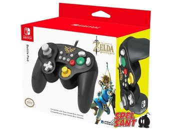 Hori Nintendo Switch Gamecube Style Battle Pad (Zelda)
