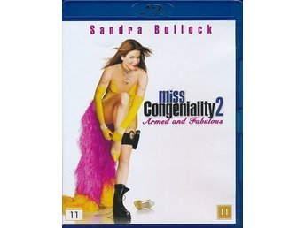 Miss Secret Agent 2 - Miss Congeniality 2: Armed and Fabulous (Blu-ray)