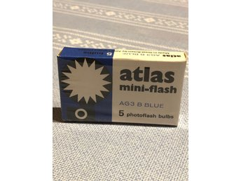 Fotoblixtar atlas mini-flash AG3 B BLUE