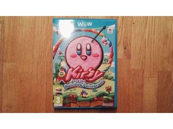 Kirby and the Rainbow Paintbrush Nyskick Nintendo Wii U - Skellefteå - Kirby and the Rainbow Paintbrush Nyskick Nintendo Wii U - Skellefteå