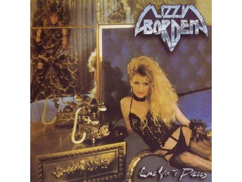 Lizzy Borden - Love You To Pieces +4 (1985/2002) CD, Reissue, Metal Blade, Rem