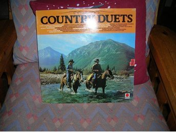 COUNTRY DUETS LP SKIVA