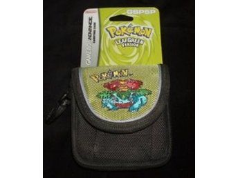 GBA Carry Case Pokemon Leaf Green