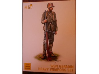 WWI GERMAN INFANTRY HEAVY WEAPONS SET    HäT 1/72 Byggsats