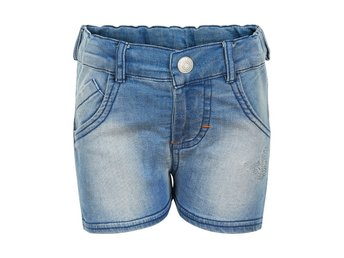 nya Minymo 128=8 år stretch shorts i jeans denim