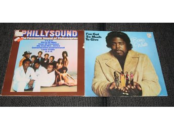 "Barry White "" I've Got So Much To Give""/ Philly Sound ""The Fantastic Sound"""