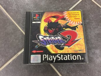 Strider 2 (med Bonus Disc Strider 1) till PS1