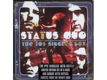 Status Quo - The 70s Singles Box  6 singlar