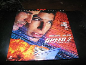 Speed 2 - AC-3- Special Widescreen edition  2st  Laserdisc