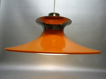 RETRO  ORANGE TAKLAMPA  DANSK DESIGN