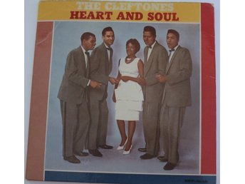 The Cleftones - Heart And Soul (REP-1036) MEGARARE SWE -61 GREEN VINYL