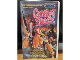 Combat Shock - EX-Rental, Holland, Video Entertainment, VHS - TROMA