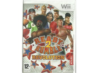 READY 2 RUMBLE - REVOLUTION  ( INPLASTAT WII SPEL )
