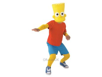 Bart Simpson 110-116cl (5-6 år) The Simpsons Homer Bart Marge