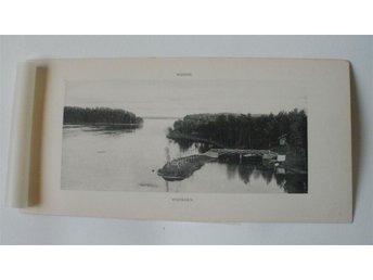 Finland - Wuoksi - Wuoksen, foto - plansch från förra sekelskiftet. - Hagby - Finland - Wuoksi - Wuoksen, foto - plansch från förra sekelskiftet. - Hagby