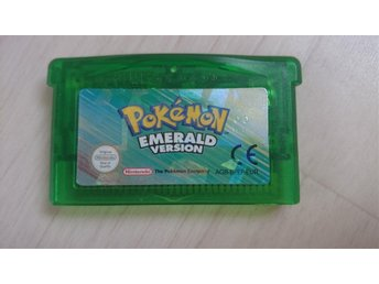 Pokemon Emerald till GameBoy Advance