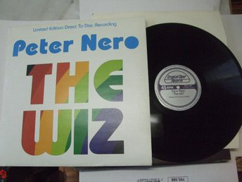 "PETER NERO The WIZ Crystal Clear records 12"". 45rpm"