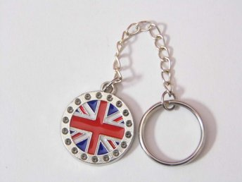 UK-flagga nyckelring / UK flag keyring