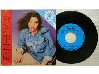 "JENNIFER RUSH 'Amiga Quartett' 1985 East German 7"" - Bröndby - JENNIFER RUSH 'Amiga Quartett' 1985 East German 7"" - Bröndby"