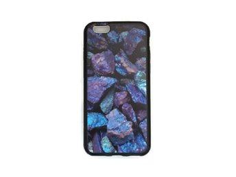 iPhone 7 Marmor Stenar Blå/Lila Rock Marble - Mjölby - iPhone 7 Marmor Stenar Blå/Lila Rock Marble - Mjölby