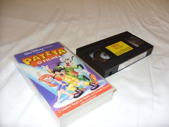 Disney A Goofy Movie Långben VHS PAL Portugal Utgåva barn film