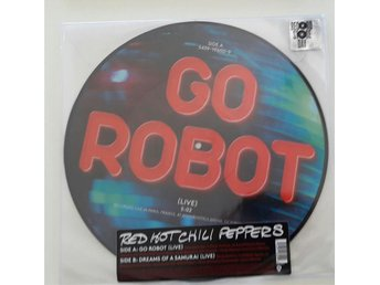 Red Hot Chili Peppers: Go Robot, Record Store Day Exclusive, Picture disc, ny