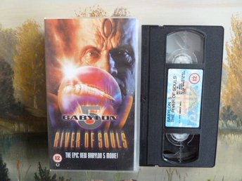RIVER OF SOULS, BABYLON 5, VHS, VIDEOKASSETT, FILM