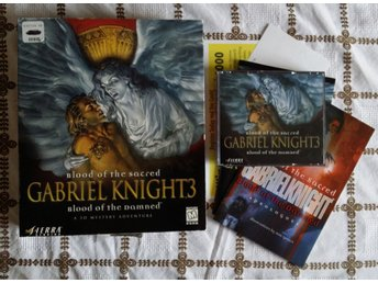 Gabriel Knight 3 - Blood of the damned PC CD