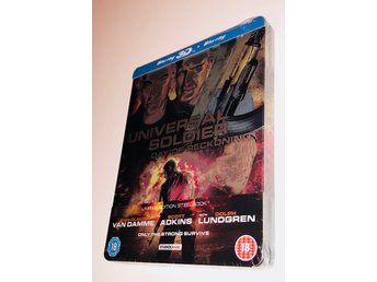 Universal Soldier Day of Reckoning 3D / Steelbook / Blu-ray 3D + 2D // INPLASTAD