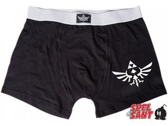 Nintendo The Legend of Zelda Triforce Logo Boxer Shorts (Large)