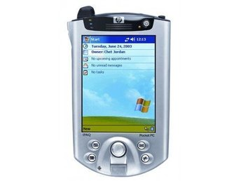 HP Ipaq Pocket PC H5450, Vintage handdator med wi-fi & bluetooth