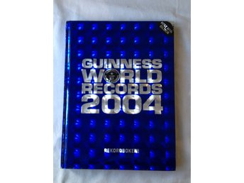 HELT NY! Guinness world records 2004 Rekordboken