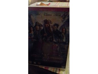 Dvd filmen Pirates of the Caribbean..Salazars revenge