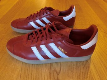 Adidas gazelle oxblood red - Rött läder
