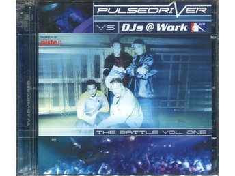 Pulsedriver vs DJs @ Work - The Battle Vol. One - 2CD - NY