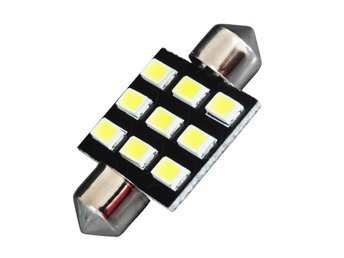4 X DA36 36mm Festoon 9 SMD5630 Car LED Lampor  white Map Dome Licence  Lamps