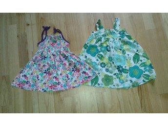 2 söta flick klänningar st 92 - Långasjö - 2 söta flick klänningar st 92 - Långasjö