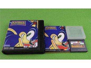 Sonic Pocket Adventure Komplett i mycket fint skick Neo Geo Pocket Color - Hägersten - Sonic Pocket Adventure Komplett i mycket fint skick Neo Geo Pocket Color - Hägersten