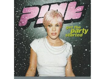 PINK - GET THE PARTY STARTED  ( CD MAXI/SINGLE )