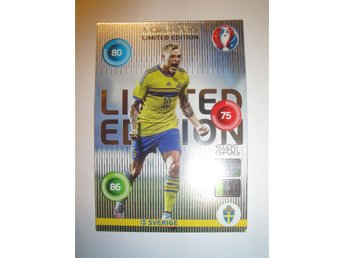 Panini Adrenalyn XL EURO 2016 Limited Edition - JOHN GUIDETTI - Sverige
