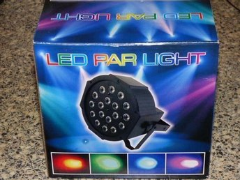 PROFFS LJUDSTYRD LED DJ / DISCO LAMPA MED MP3!